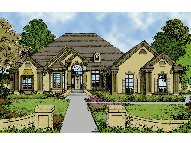 European Home Plan, 043H-0150