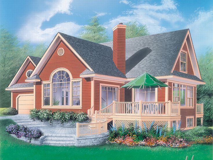 Traditional Home Design, 027H-0066