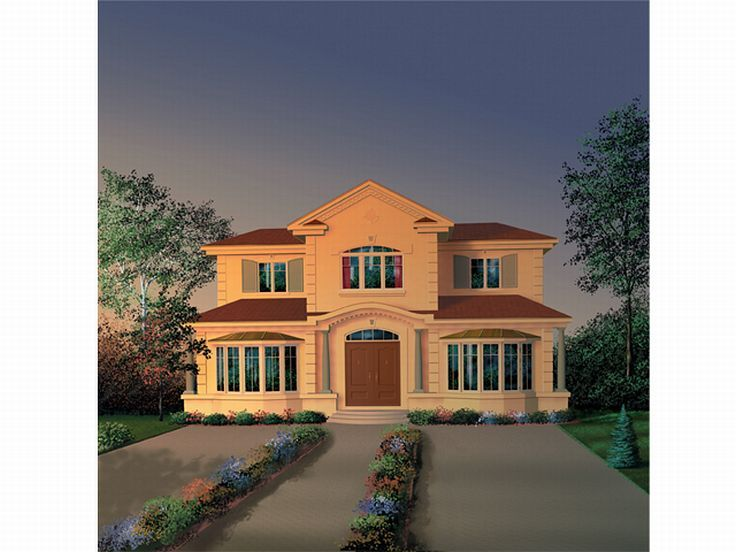 Sunbelt House Plan, 027H-0043
