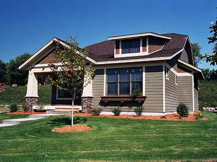 Plan H    Find Unique House Plans  Home Plans and Floor    Bungalow House Photo  H