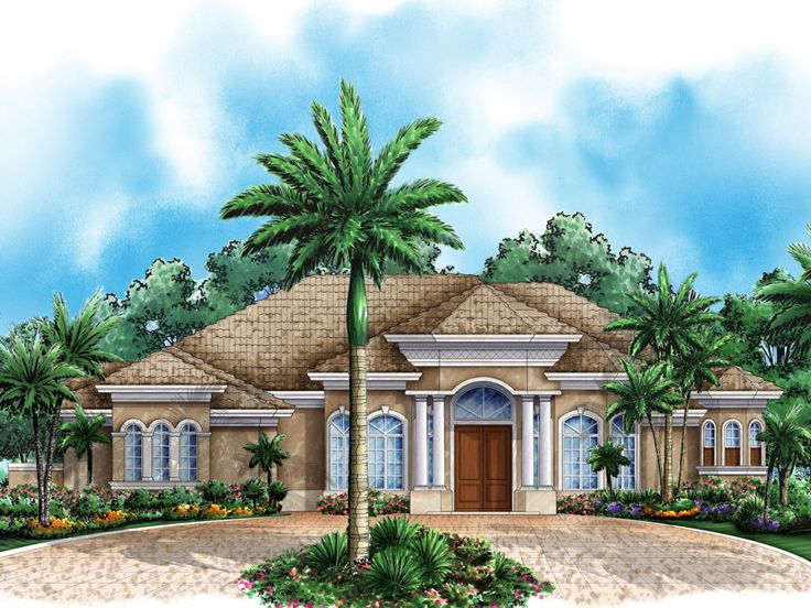 Luxury House Plan, 037H-0144