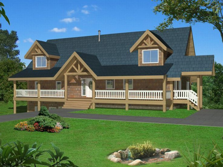 Country House Plan, 012H-0071