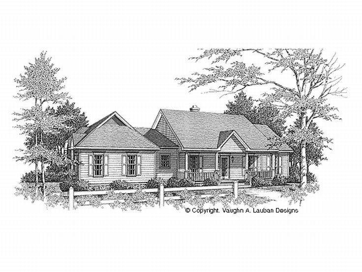 1-Story House Plan, 004H-0046