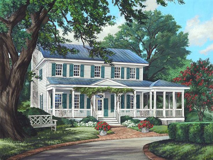 Country House Plan, 063H-0081