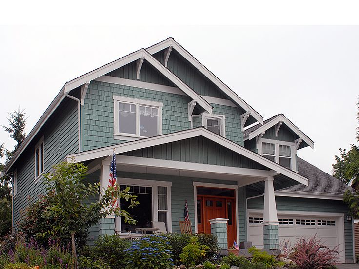 Bungalow House Plan, 034H-0013