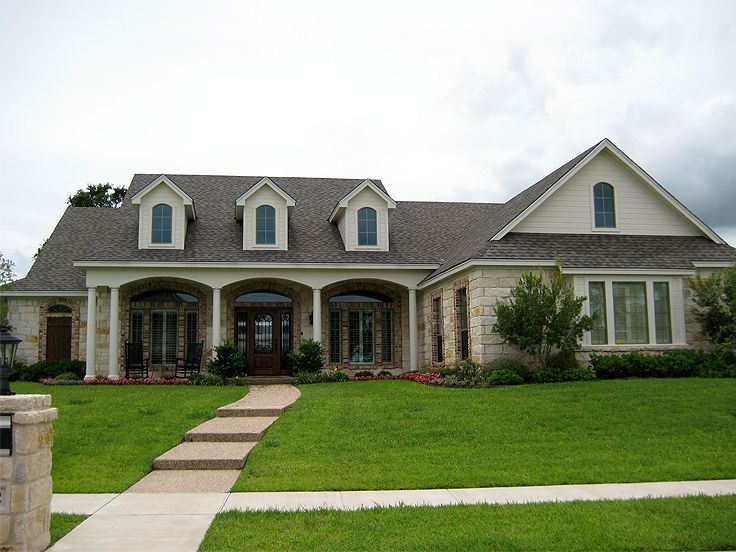 Ranch Home Plan Photo, 036H-0077