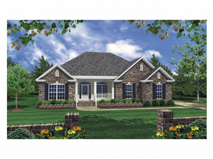 One-Story Home Plan, 001H-0032