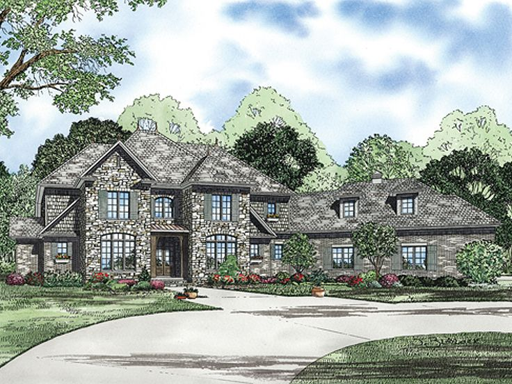 Luxury Home Plan, 025H-0214