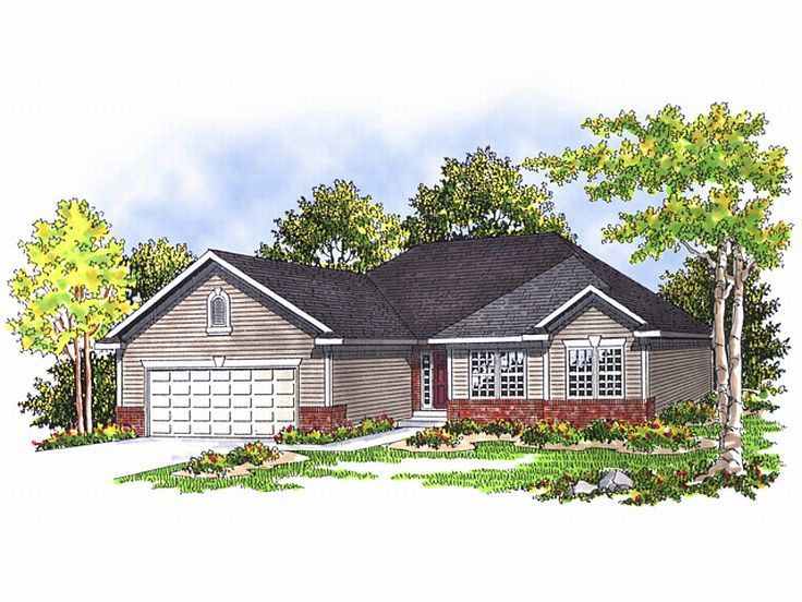 Small House Plan, 020H-0046