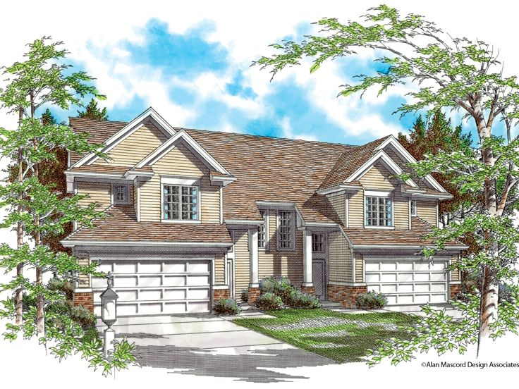 Multi-Family House Plan, 034M-0003