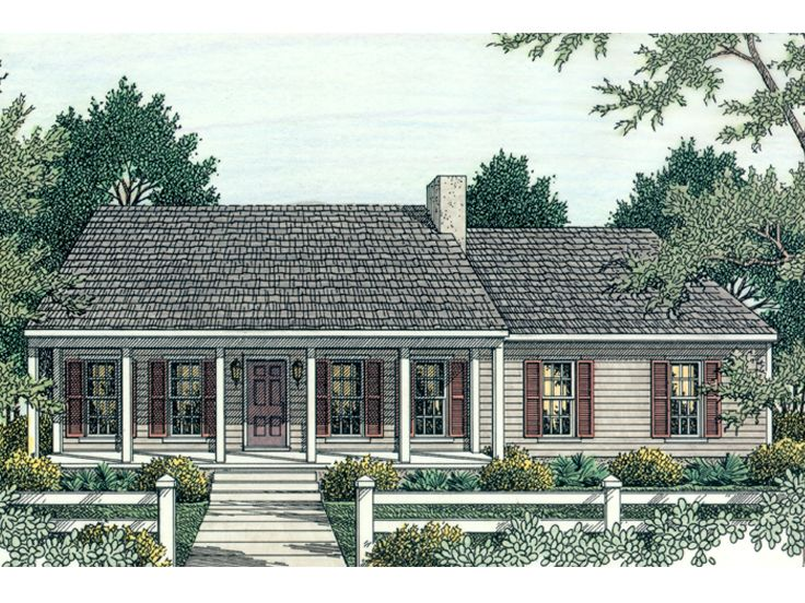 Small House Plan, 042H-0006