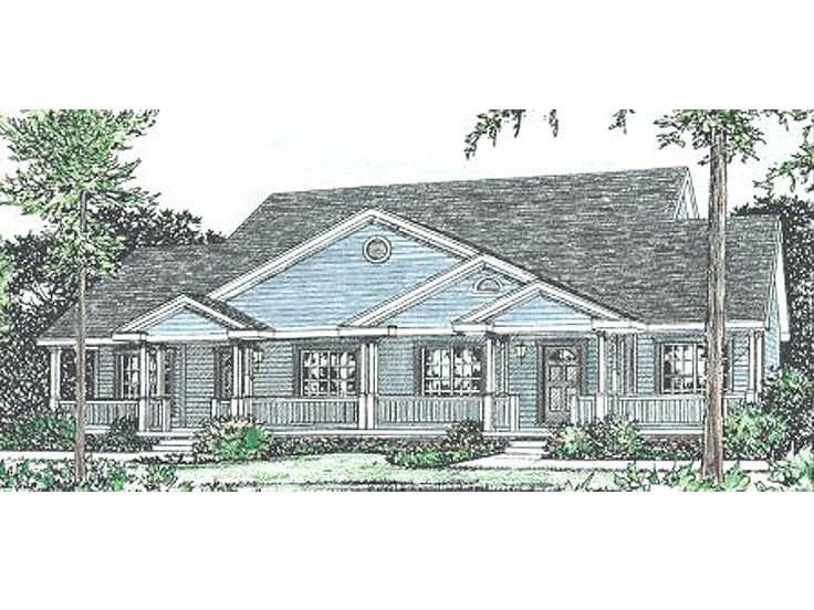 Multi-Family Home Plan, 031M-0023