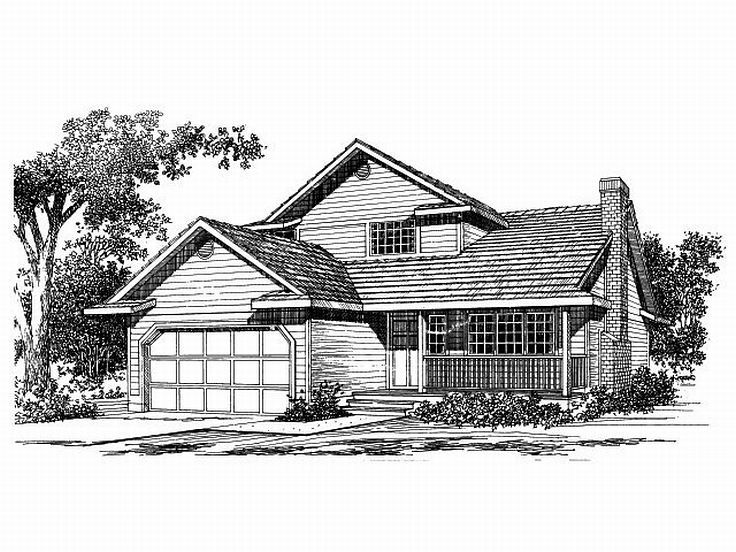 Affordable House Plan, 032H-0013