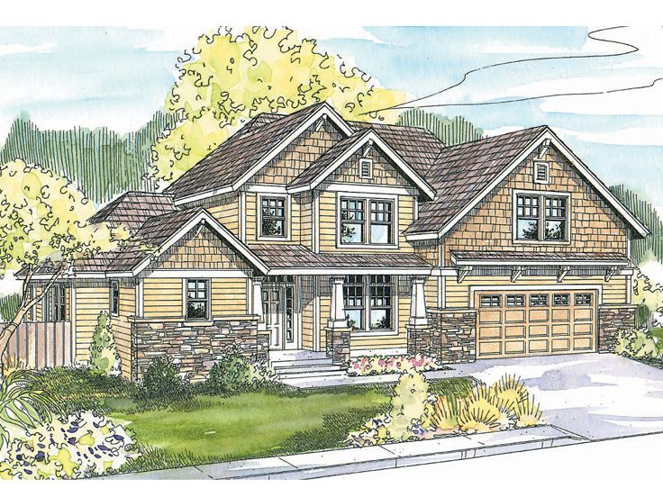 Craftsman Home Design, 051H-0133