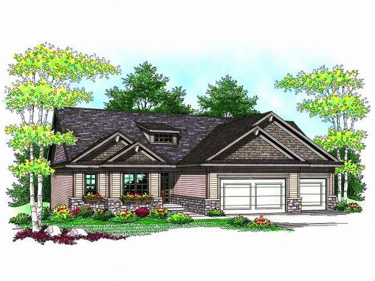 One-Story Home Plan, 020H-0160