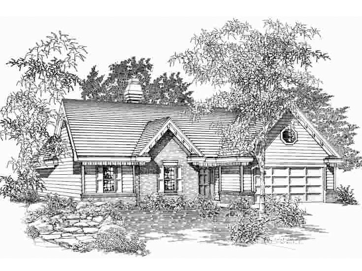 Affordable Home Plan, 061H-0021
