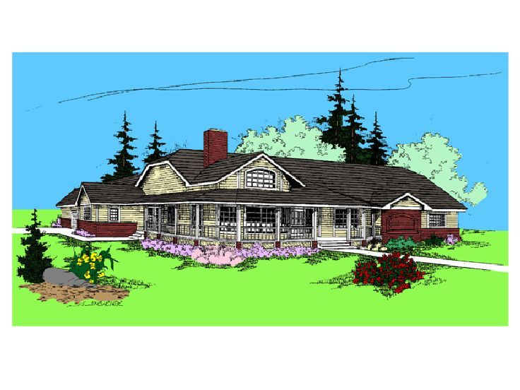 Country House Plan, 013H-0011