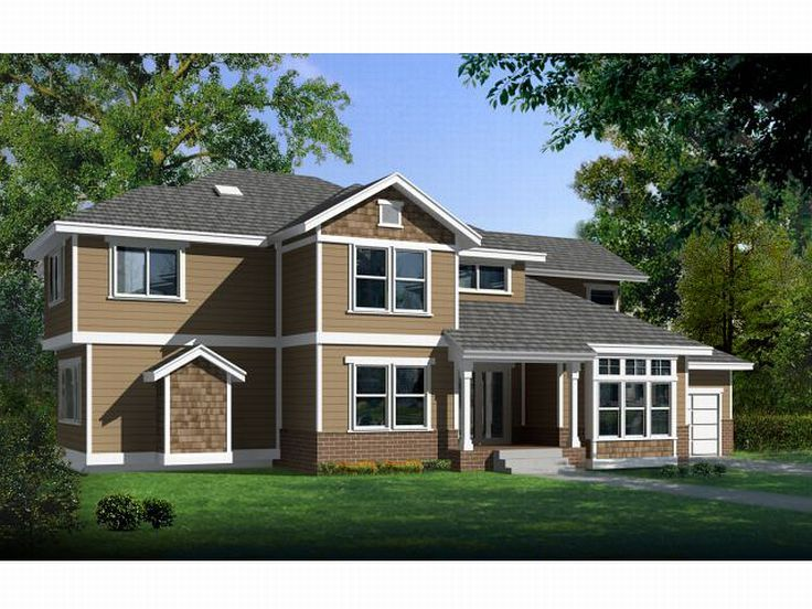 2-Story House Design, 026H-0101