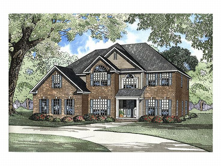 Traditional House Plan, 025H-0025