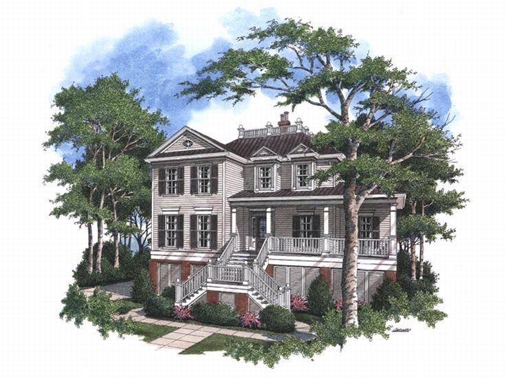 Historical House Plan, 017H-0031
