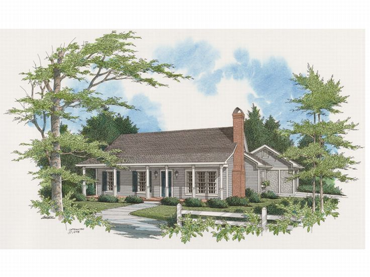 Affordable House Plan, 030H-0005