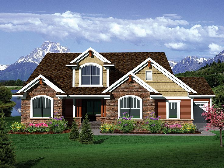 Traditional Home Plan, 020H-0265