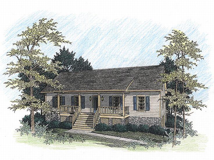 Country Home Design, 007H-0031
