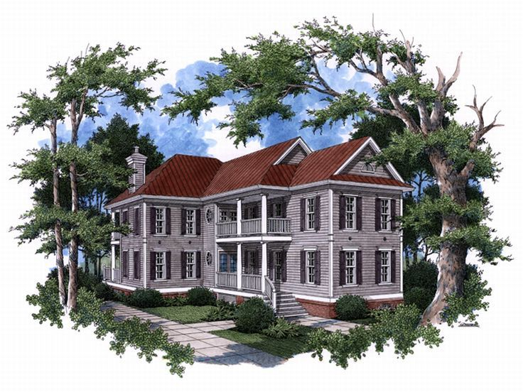 Historical Home Plan, 017H-0019