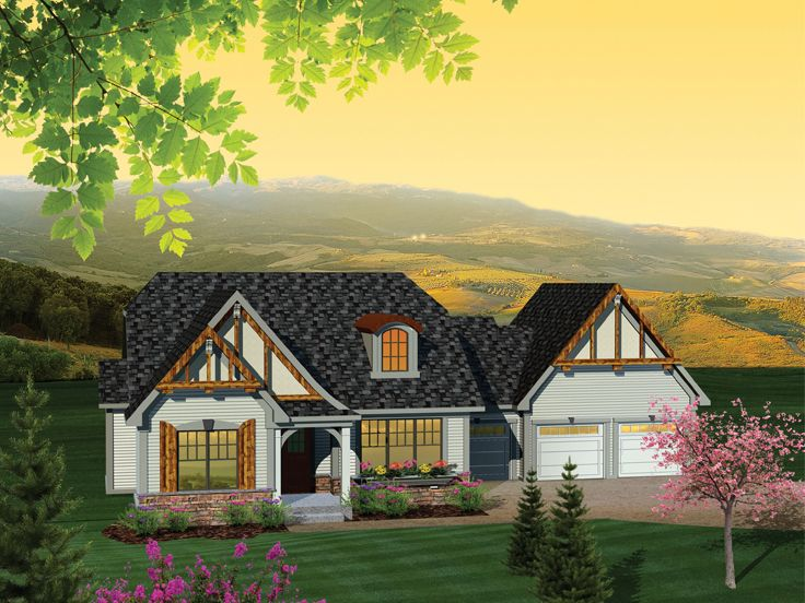 1-Story Home Plan, 020H-0272