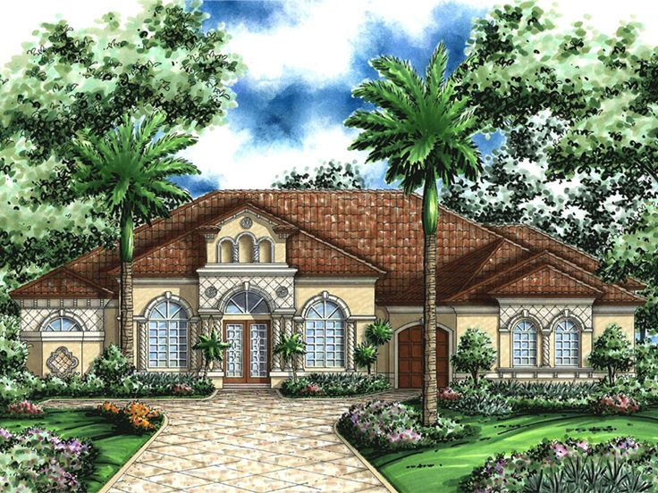 Luxury Ranch Home, 040H-0092