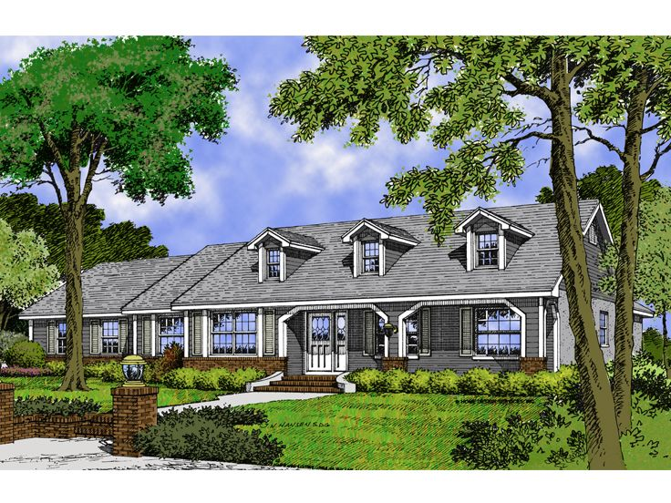 1-Story House Plan, 043H-0106