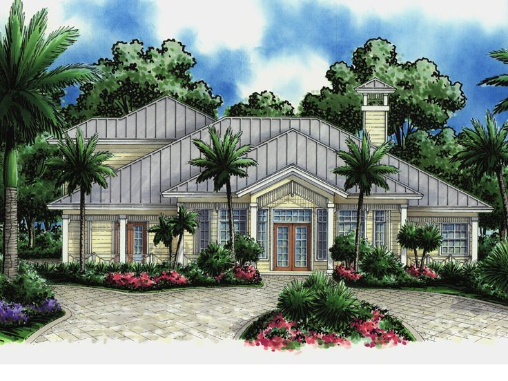 Coastal House Plan, 040H-0059