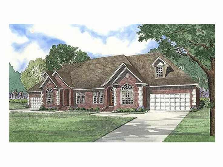 Multi-Family House Plan, 025M-0012
