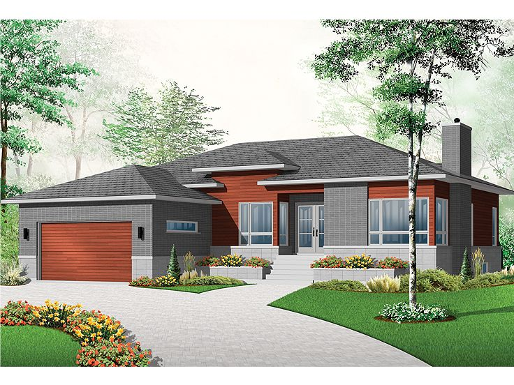Contemporary House, 027H-0325