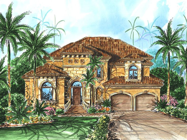 European Home Plan, 037H-0106