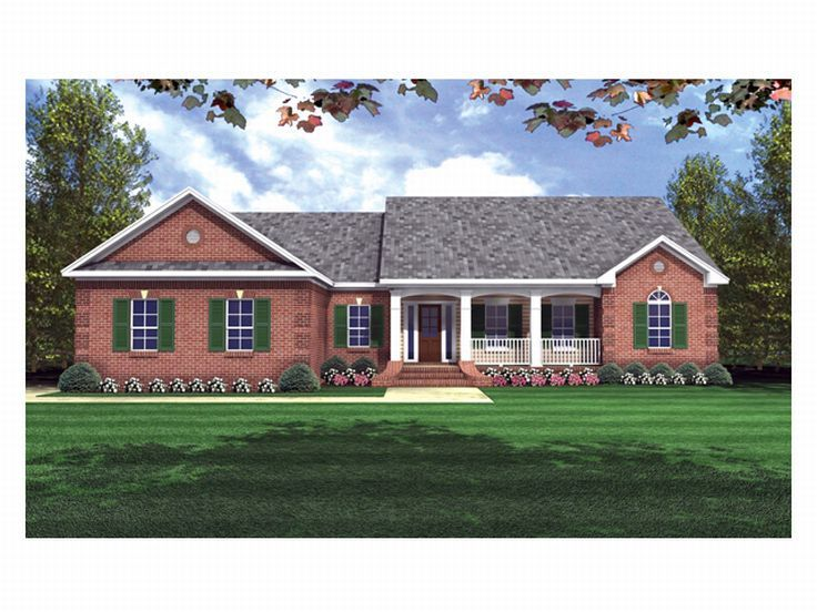 Country House Plan, 001H-0064