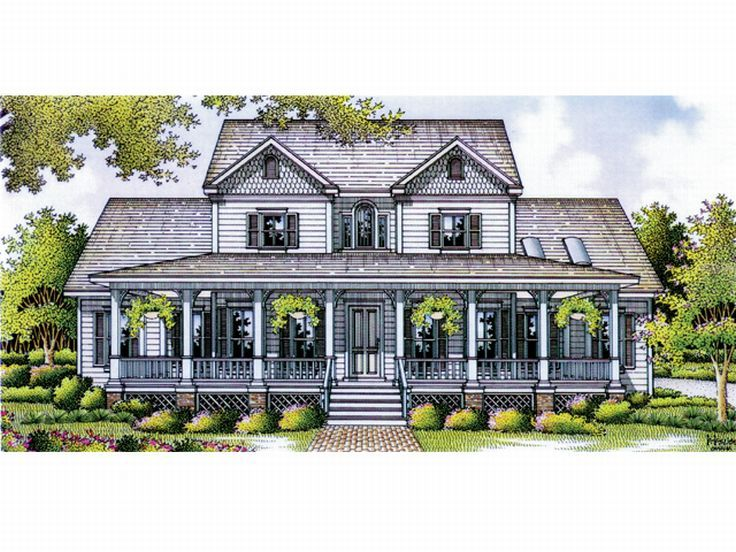 Country Home Design, 021H-0176