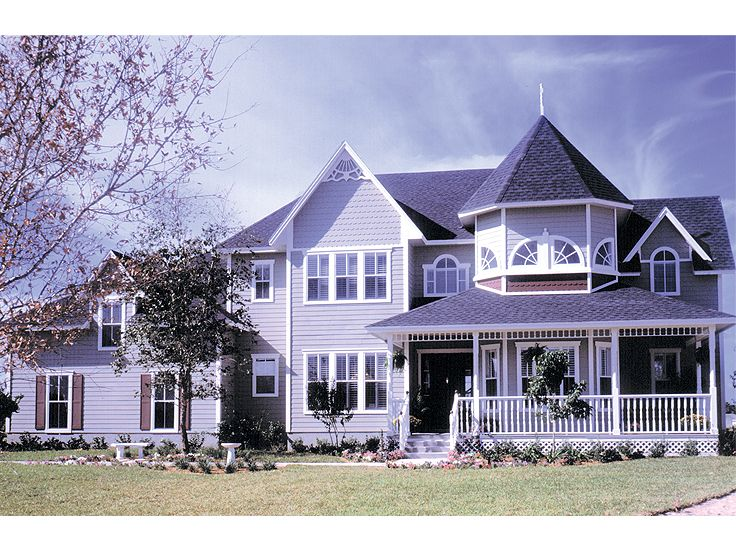 Victorian House Plan, 043H-0156