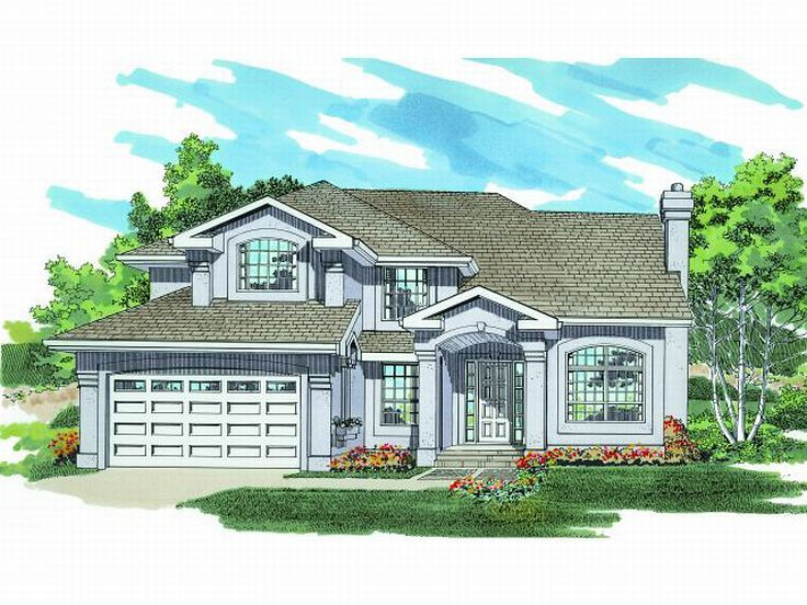 Sunbelt House Design, 032H-0094