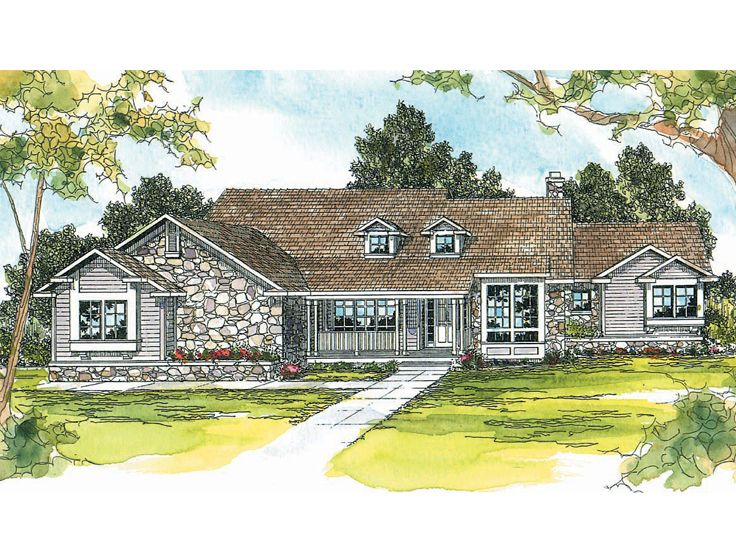 One-Story House Plan, 051H-0028