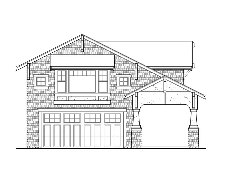 Garage Apartment Plan, 035G-0015