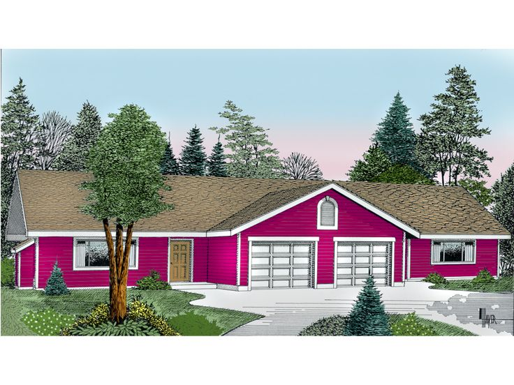 Duplex Home Plan, 026M-0003