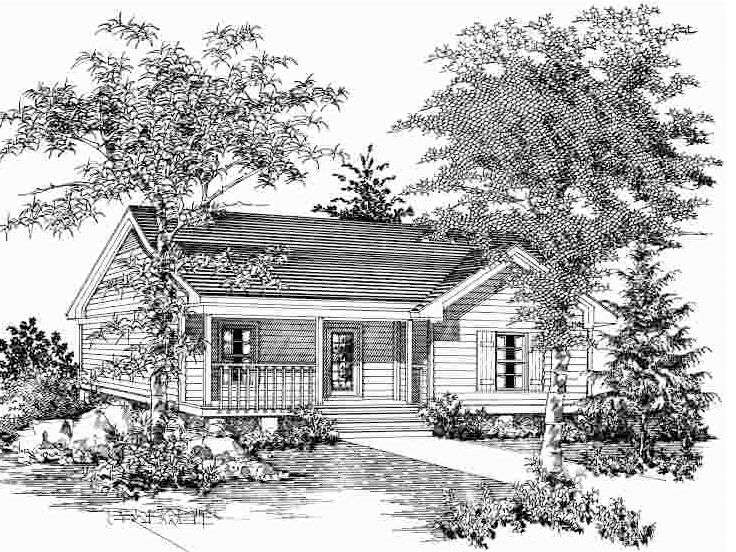 Vacation Cabin, 061H-0002