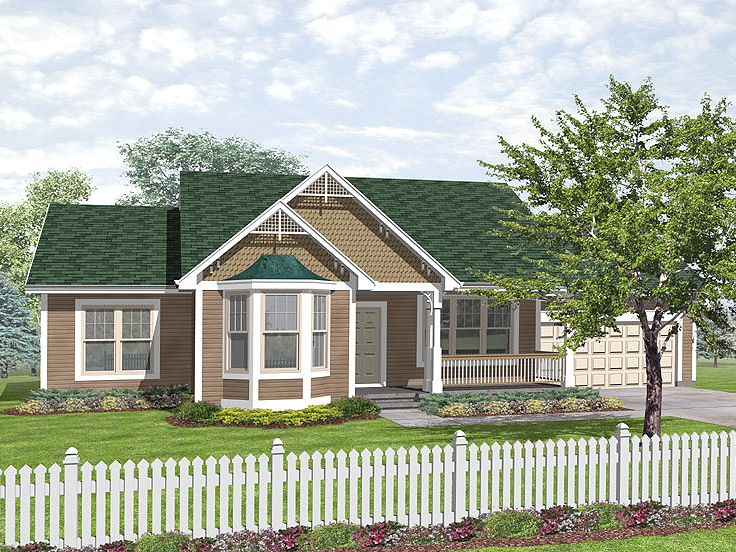 Victorian House Plan, 016H-0021
