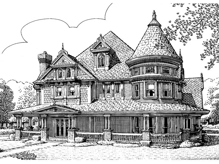 Plan 054h 0047 find unique house plans home plans and Luxury victorian house plans