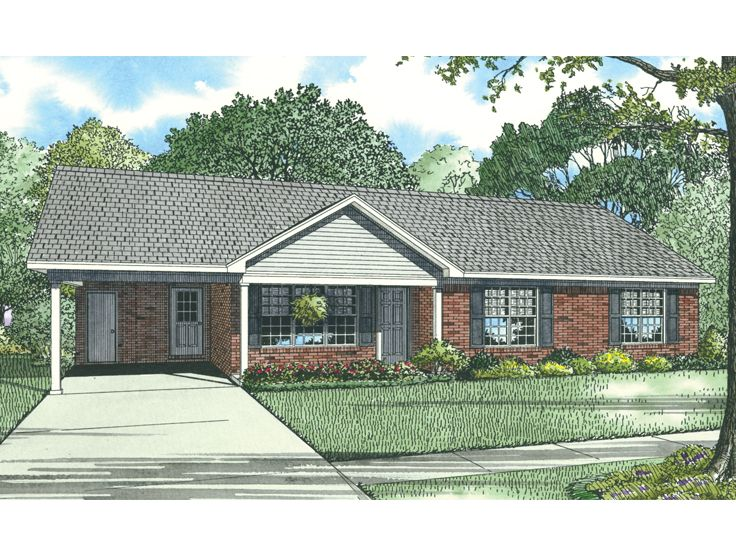 1-Story House Plan, 025H-0166