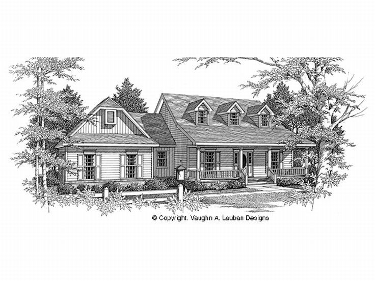 Country House Plan, 004H-0056