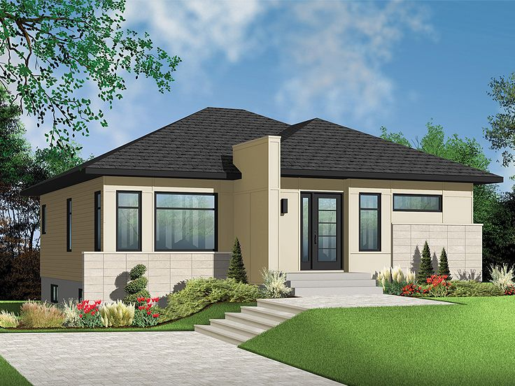 Empty nester home plans modern empty nester house plan for Empty nester home plans designs