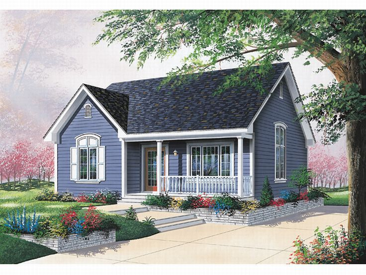 Cottage House Plan, 027H-0122