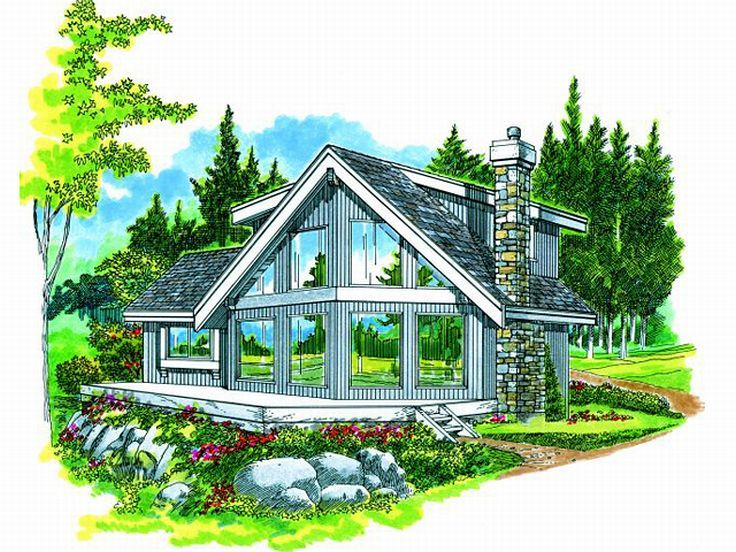 Narrow waterfront house plans narrow lot waterfront for House plans for narrow lots on waterfront